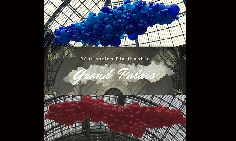 décor de ballons gonflables