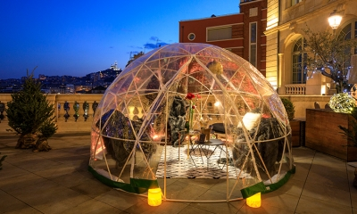 bubble rooftop
