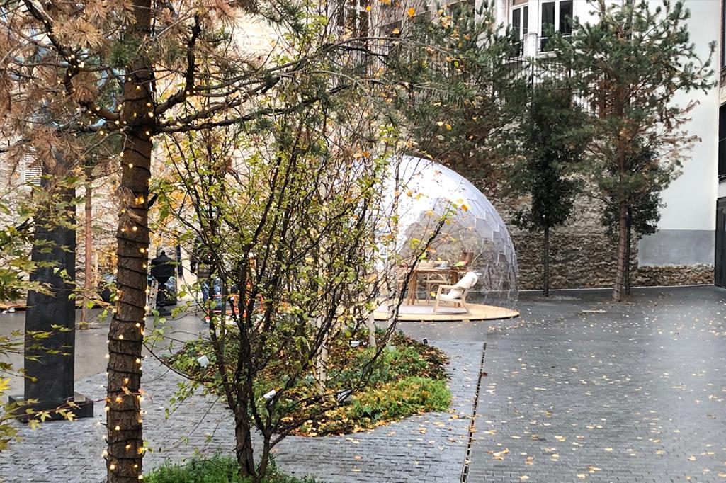 dome transparent Polycarbonate